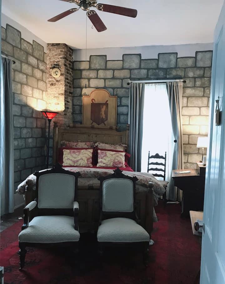 Sewanee Castle Room-- sleep like royalty.