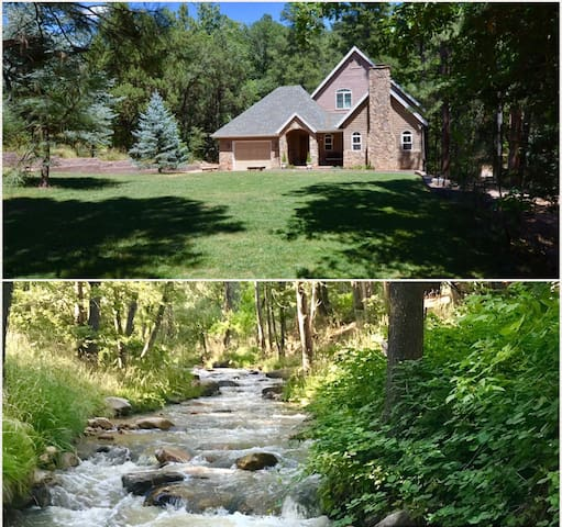 Riverfront Retreat on the East Verde River