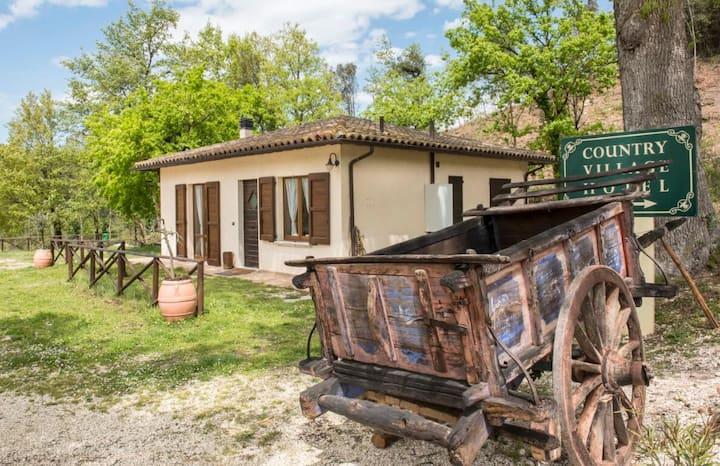 Villa in a countryside close to Spoleto center.