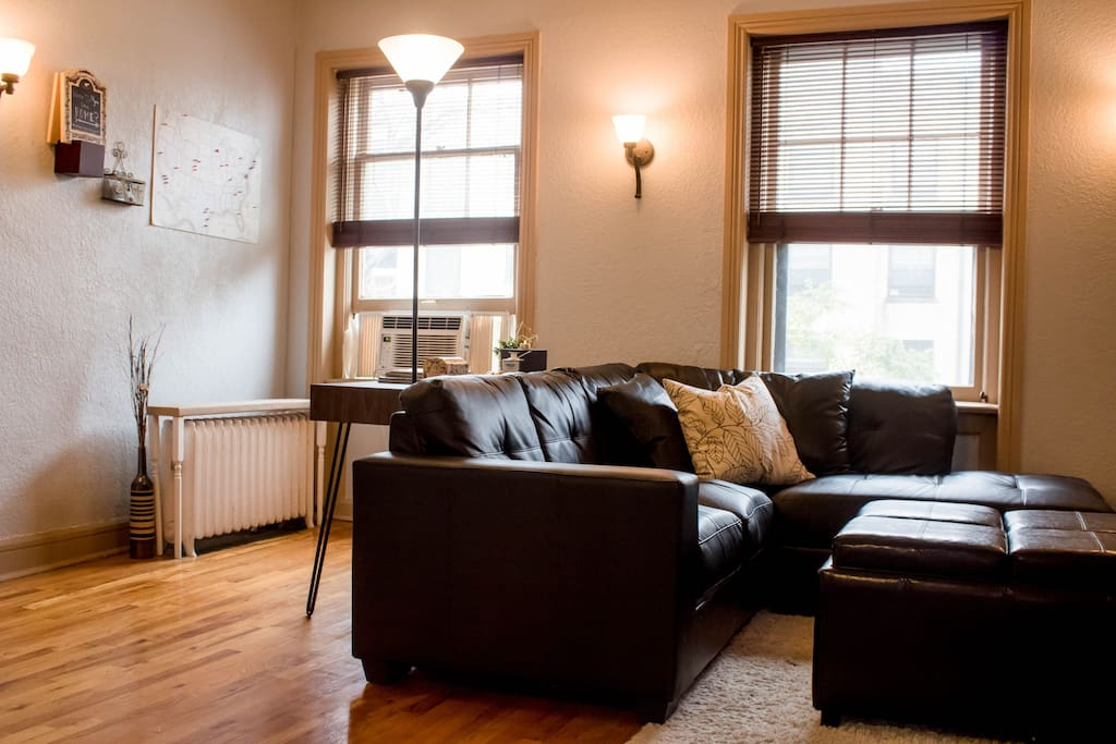 Welcome to our home! It will give you a very comfortable experience in an absolutely perfect location as you explore Denver.