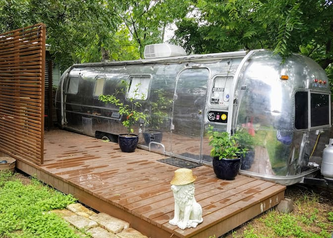 Hip Remodeled Airstream Trailer - close to DT