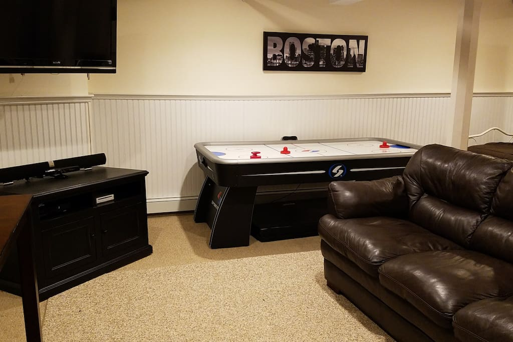 Living Room/Game Room - with couch (if needed for fifth guest, ideal for child), TV, DVD, & XBox.