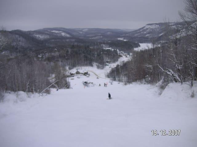 All Season Nature Wonderland ski-in ski-out