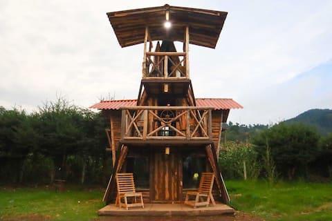 Fuego - Wood Cabin Tecpan (No Wifi, Relax)