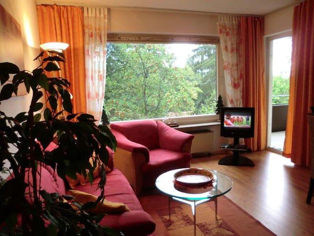 Fewo Am Waldrand mit Schwimmbad - Braunlage - Apartment