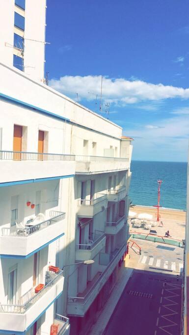 vue du premier balcon