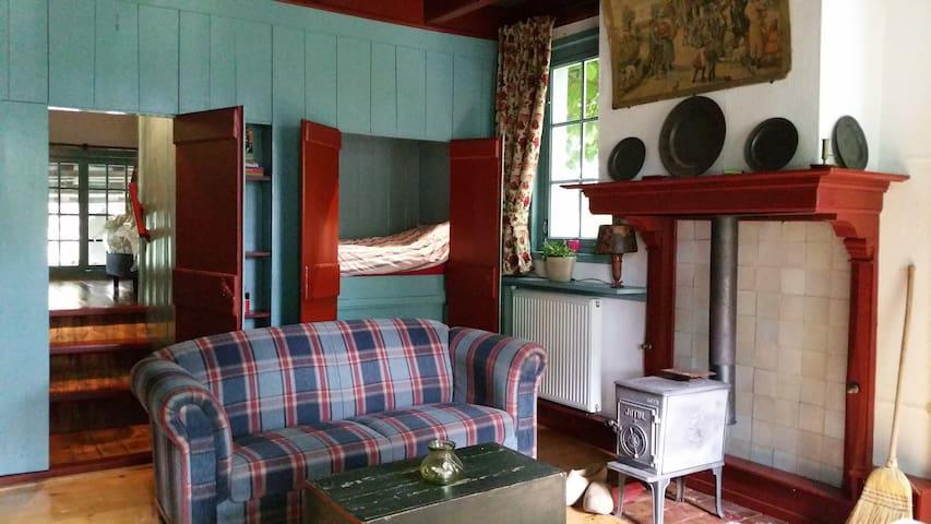 Appartement in antiekboerderij