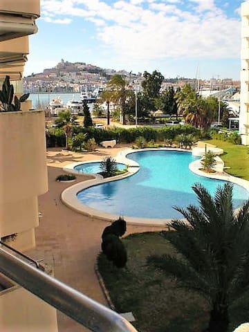 Delicious apt in Ibiza Marina Botafoch - Eivissa - Appartement