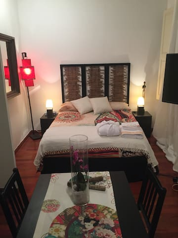 SPACIOUS ROOM WHIT LIVING ROOM - Barcelona  - Ev