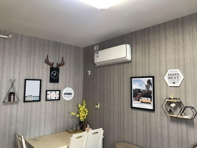 日月居-定海外滩欧式家庭房