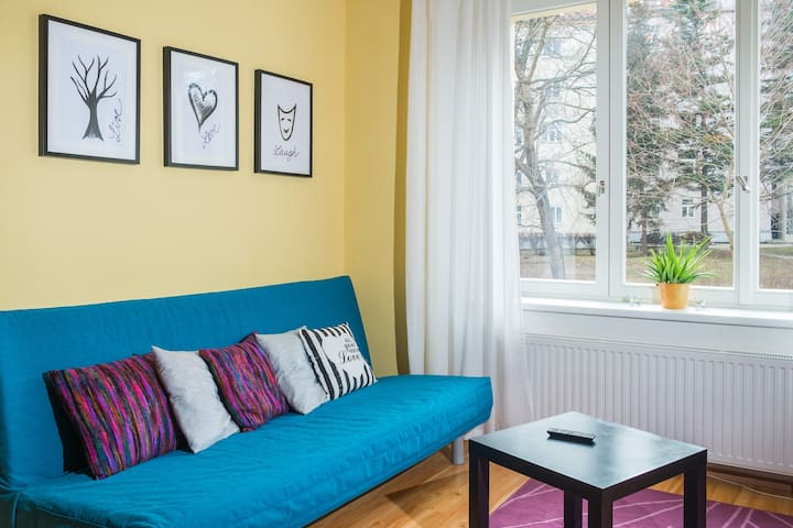 Cozy bright apartment great location - Praga - Appartamento