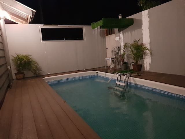 TERATAK WARISAN CHALET WITH PORTABLE POOL