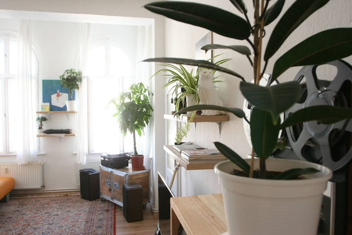 studio apartment in a super cool part of Berlin