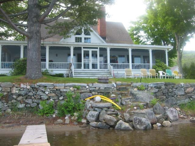Dartmouth Graduation Lake house NH - Enfield - Casa