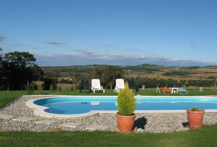 Pyrenees suite. Self catering apartment - Saint-Victor-Rouzaud - Byt