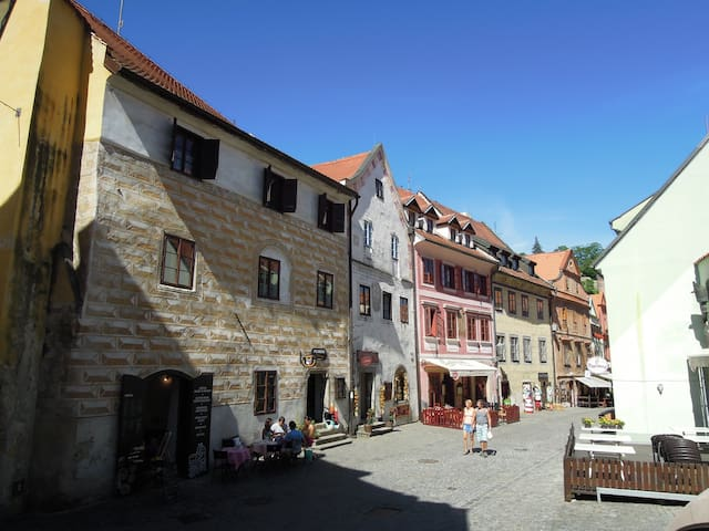 Historické centrum Českého Krumlova