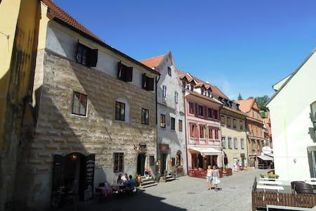 Historické centrum Českého Krumlova - Český Krumlov