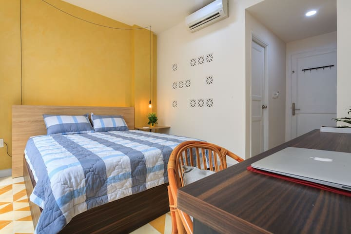 ♥Staycious Balcony* Near Ben Thanh Market* 1A♥