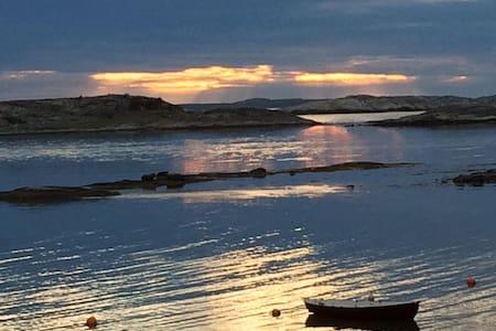 Stuga / hus på Rossö med fantastisk havsutsikt