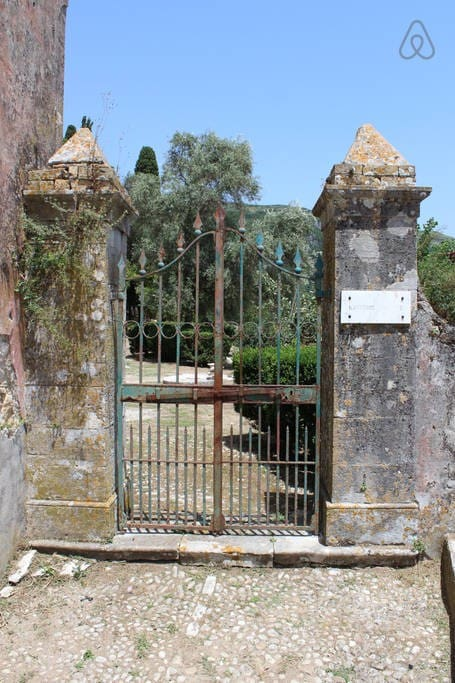 The old entrance