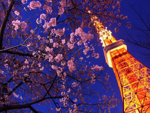 [0 min!] #1.Under the Tokyo Tower - Minato - Apartamento