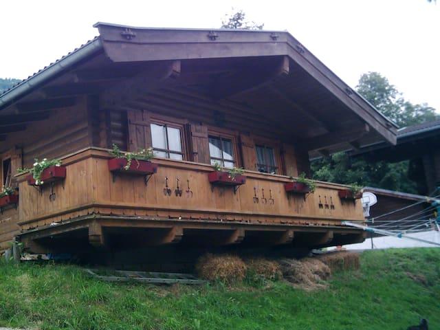 """Ferienhaus """"Talblick"""" - Jesdorf - Houten huisje"""