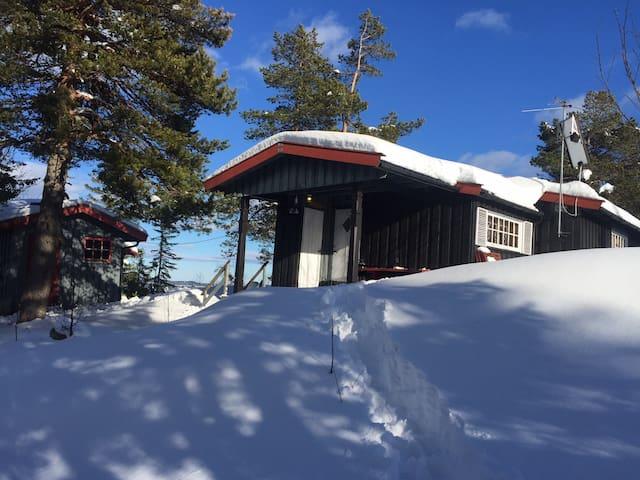 Usjenert hytte på Skrim - Passebekk - Stuga