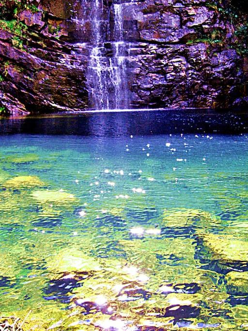 cristalinas águas para snockel