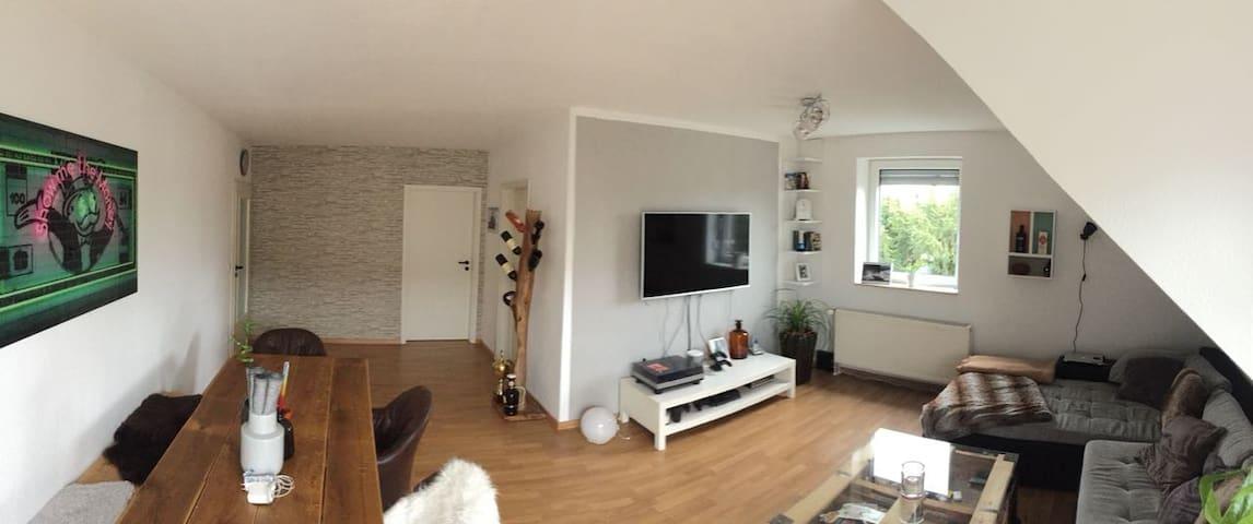 Zentralgelegene Wohnung in Neustadt a. Rbge