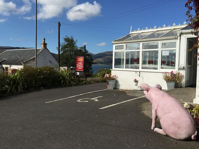 The Pier, Lochside Guest House - Kilmun - Bed & Breakfast