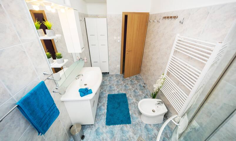 ALWAYS SPARKLING CLEAN BATHROOM