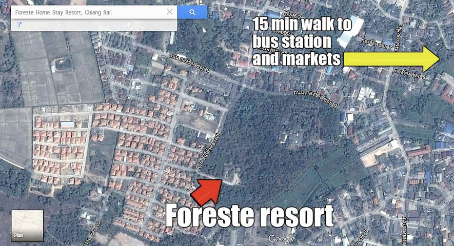 FORESTE HOMESTAY RESORT - CHIANG RAI DOWNTOWN - Jiné
