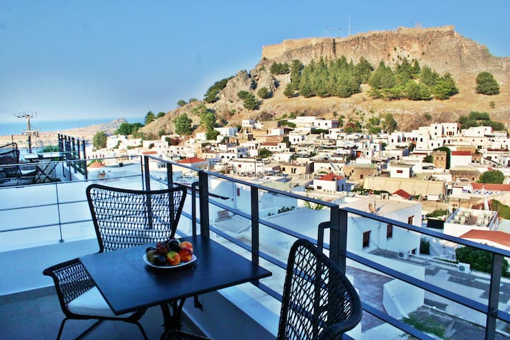 Lindos Beauty  (Sea and Town View) - Bufons - Pis