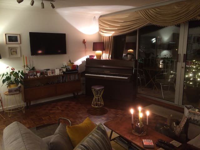 Single/twin room in leafy, quiet Edgbaston - Birmingham - Apartmen