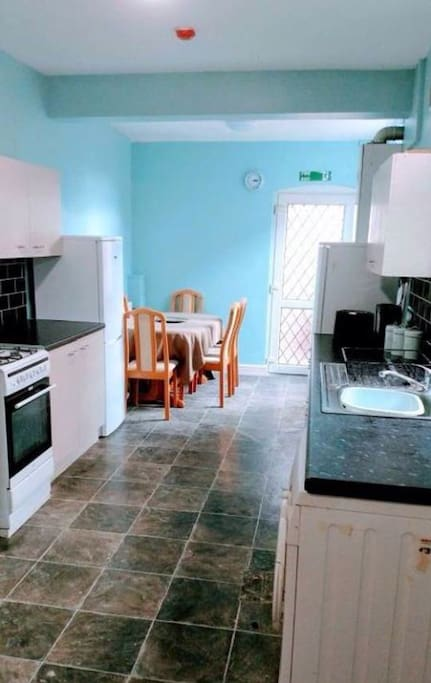 Large kitchen with all facilities