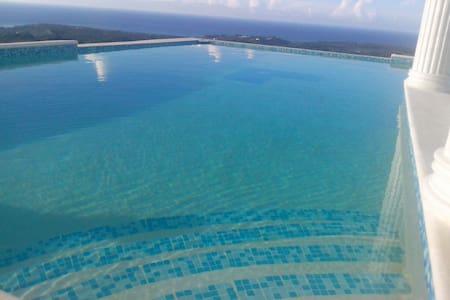 Bungalow sur loma - Vue mer - Las Terrenas