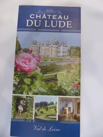 le chateau du Lude 10 mns