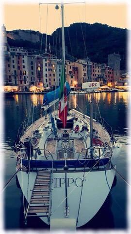 Beautiful Sailing Boat In Portovenere
