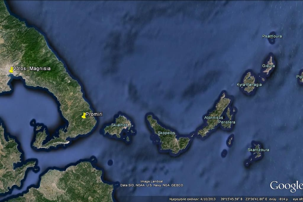 South Pelion & Sporades islands