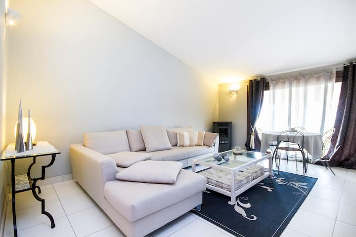 Open-space in villa