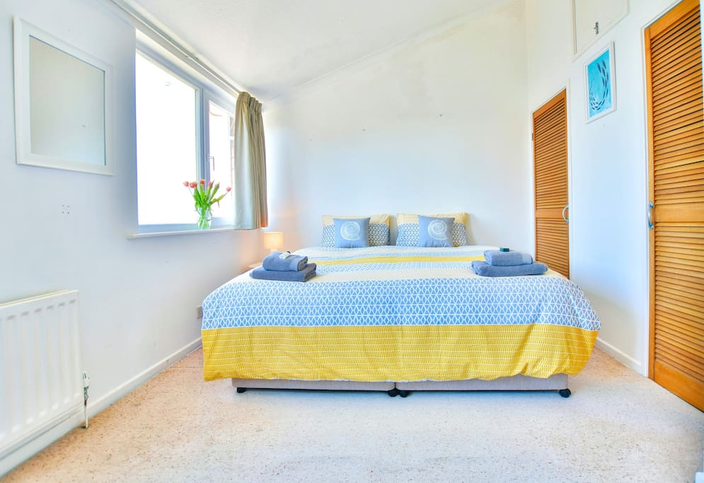 Bedroom 1- Light and Airy
