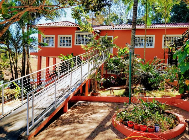 Rancho Luxuoso para temporada em Delfinópolis -Mg