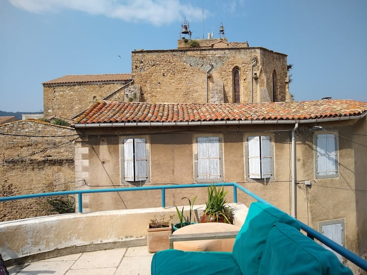 Two bedroom house Bize-Minervois, Maison Courbée