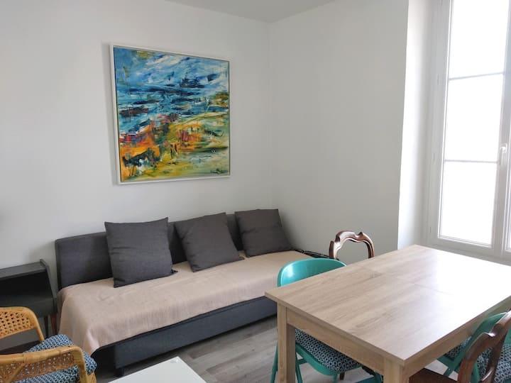 Saint Lunaire - appartement T2, plage à 100 mètres