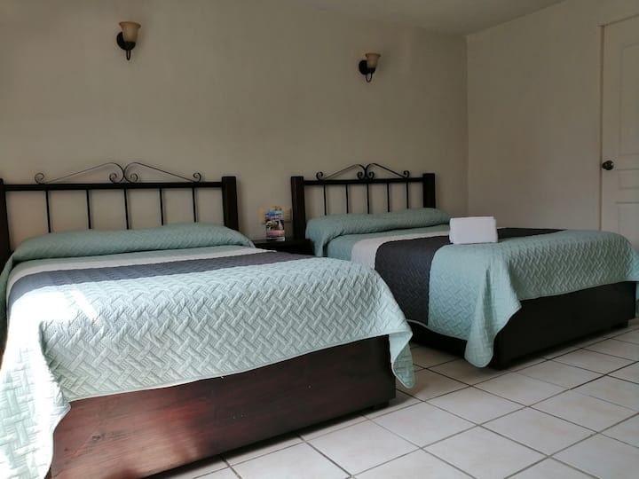 Hotel Uke Inn Terán-Twin Room