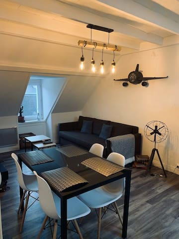 WingFlat Appartement Cherbourg 300m Naval Group ✈️