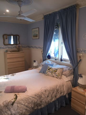 The Blue Room Double Bed.