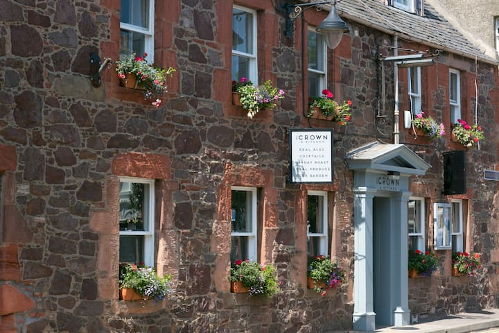 The Crown And Kitchen Guest House  - East Linton - Wikt i opierunek