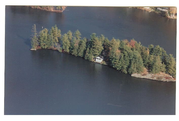 1 Acre Private Island with Cottage - Hinesburg - Ada