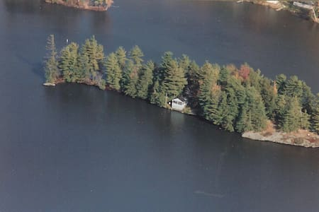1 Acre Private Island with Cottage - Hinesburg